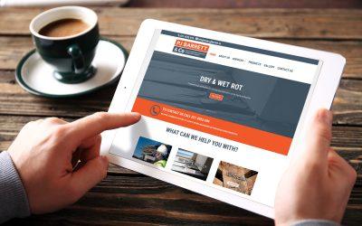 PJ Barrett & Co New Website