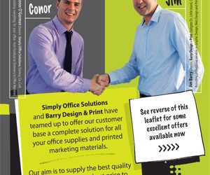 Barry Design and Print Joins forces with Simply Office Solutions
