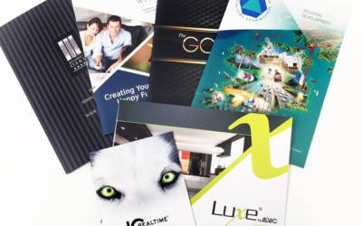 The Power of Printed brochures and Annual Reports