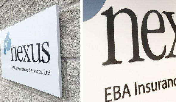 New Signage for Nexus EBA