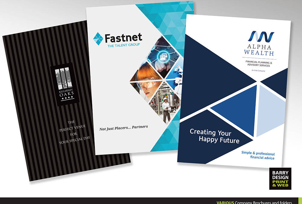 When it comes to Corporate Brochures and Annual Reports – Design Counts!