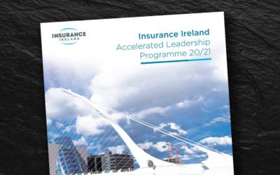New brochure for Insurance Ireland Accelerated Leadership Programme 20/21